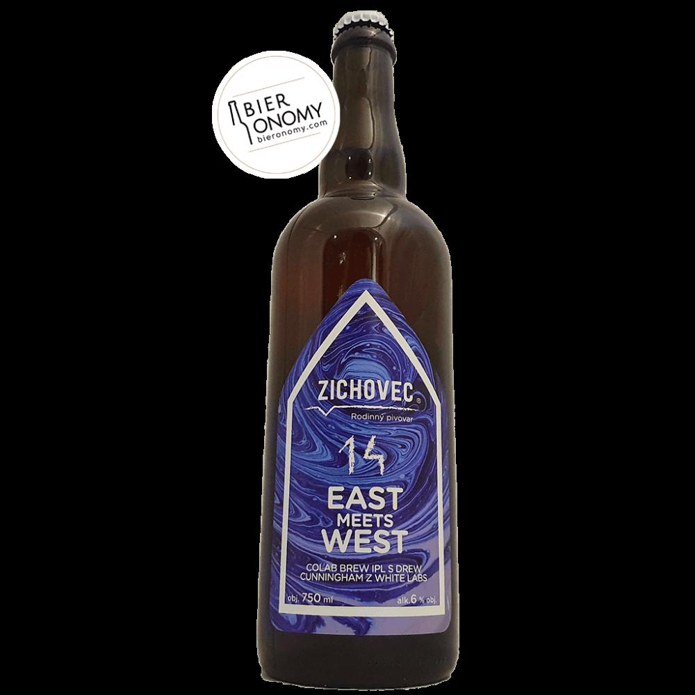 Bière East Meets West 14 IPL 75 cl Zichovec Brasserie x White Labs