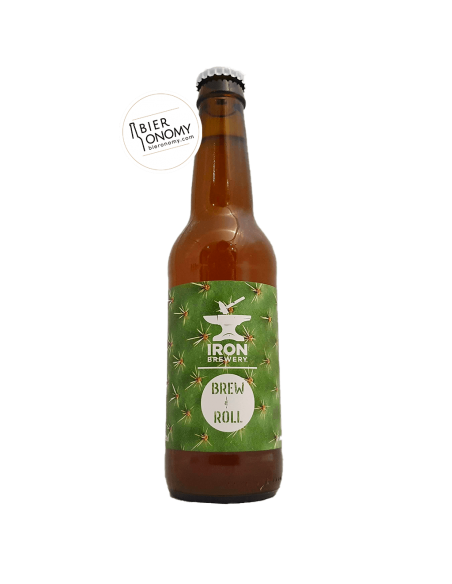 Bière Mexican Gose 33 cl Brasserie Iron x Brew & Roll