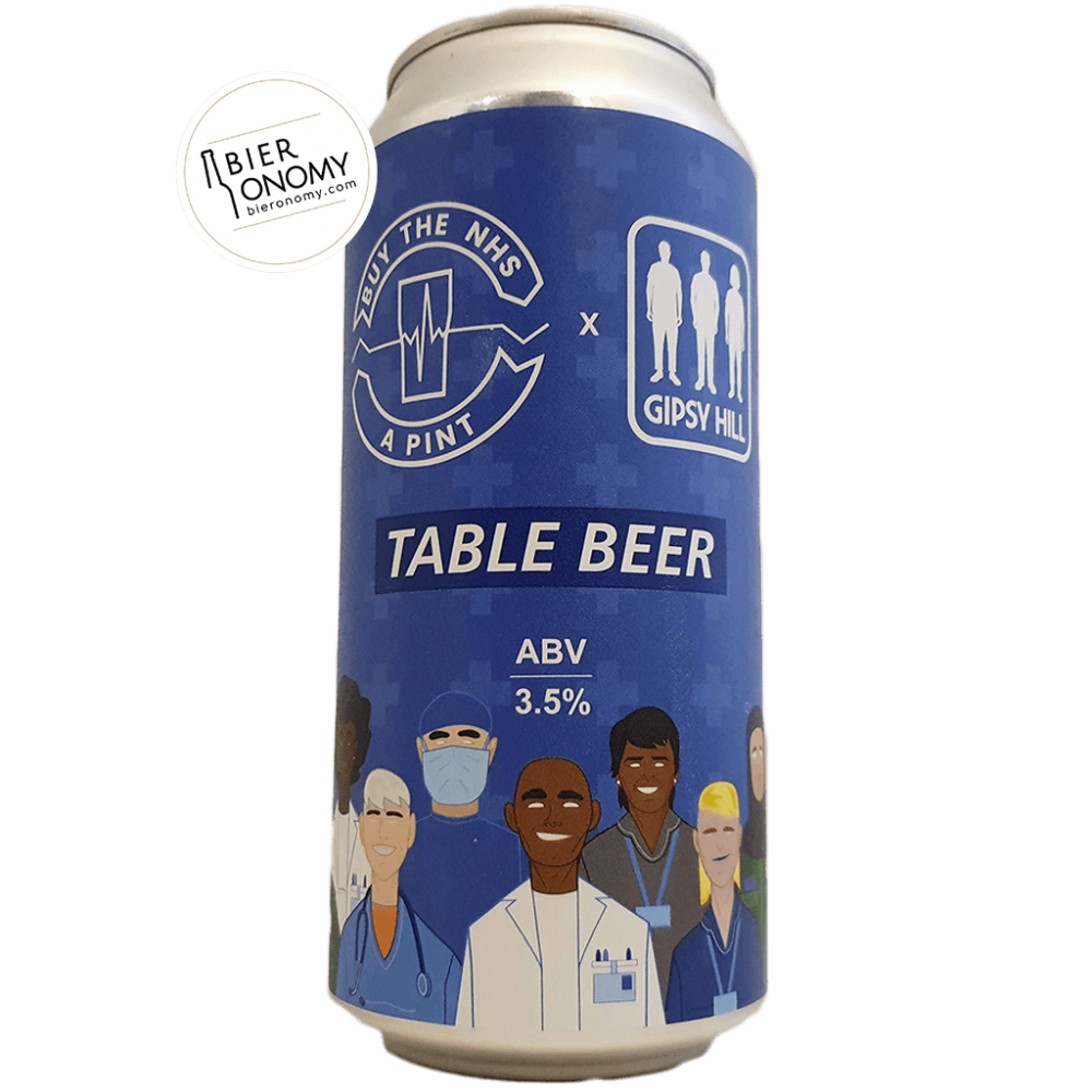 Bière Buy The NHS A Pint: Table Beer 44 cl Brasserie Gipsy Hill Brewing Company