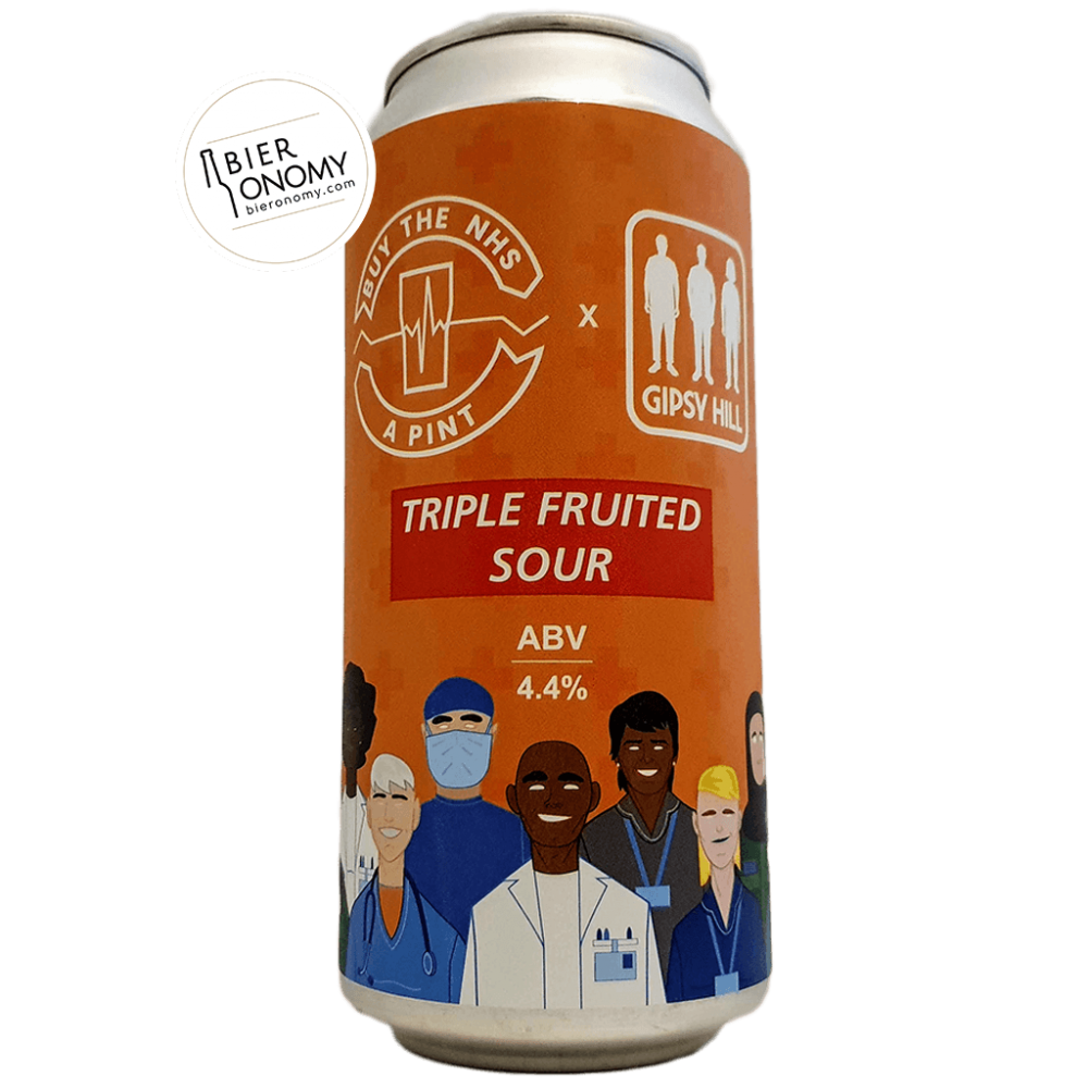 Bière Buy The NHS A Pint: Triple Fruited Sour 44 cl Brasserie Gipsy Hill Brewing Company