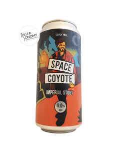 Bière Space Coyote Imperial Stout 44 cl Brasserie Gipsy Hill Brewing Company