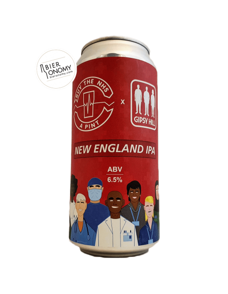 Bière Buy The NHS A Pint: New England IPA 44 cl Brasserie Gipsy Hill Brewing Company