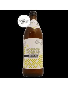 Bière Hop Hop Hurray Sour IPA 50 cl Hoppebräu Brasserie x Hopsters