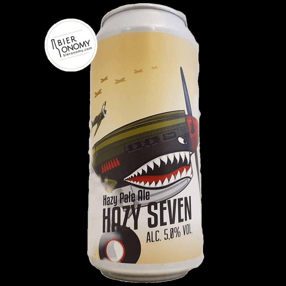 Bière Hazy Seven New England Pale Ale 44 cl Brasserie Grand Paris