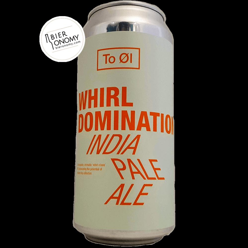 Bière Whirl Domination Hazy IPA 44 cl Brasserie To Øl
