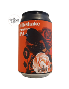 Bière Milkshake Passion IPA 33 cl Brasserie La Débauche