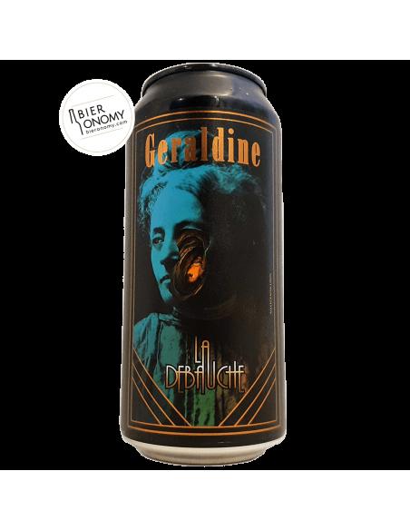 Bière Geraldine NZ Session Brut IPA 44 cl Brasserie La Débauche