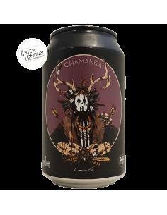 Bière Chamanka Black IPA 33 cl Brasserie La Débauche