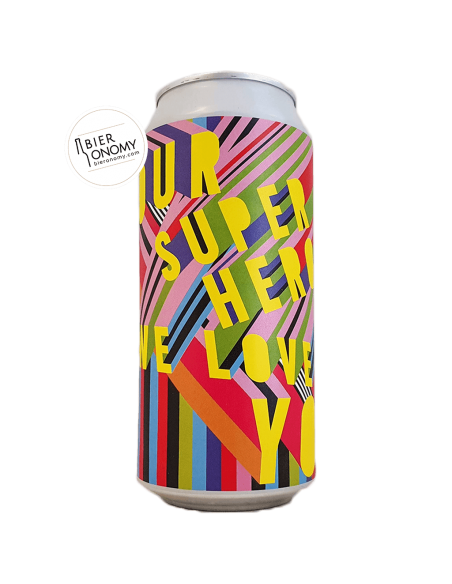 Bière Brasserie North Brewing X In Good Company X Morag Myerscough Session IPA 44 cl