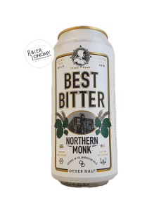 Bière Best Bitter 44 cl Brasserie Northern Monk Brew Co x Other Half Brewing