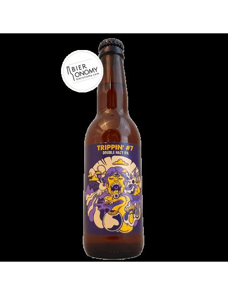 Bière Trippin' 7 Double Hazy IPA 33 cl Brasserie Hoppy Road