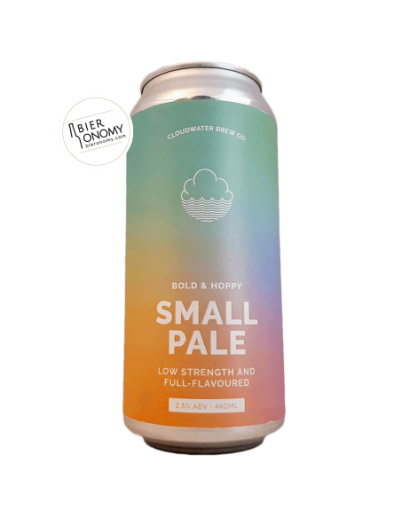 Bière Small Pale (2020) 44 cl Brasserie Cloudwater Brew Co