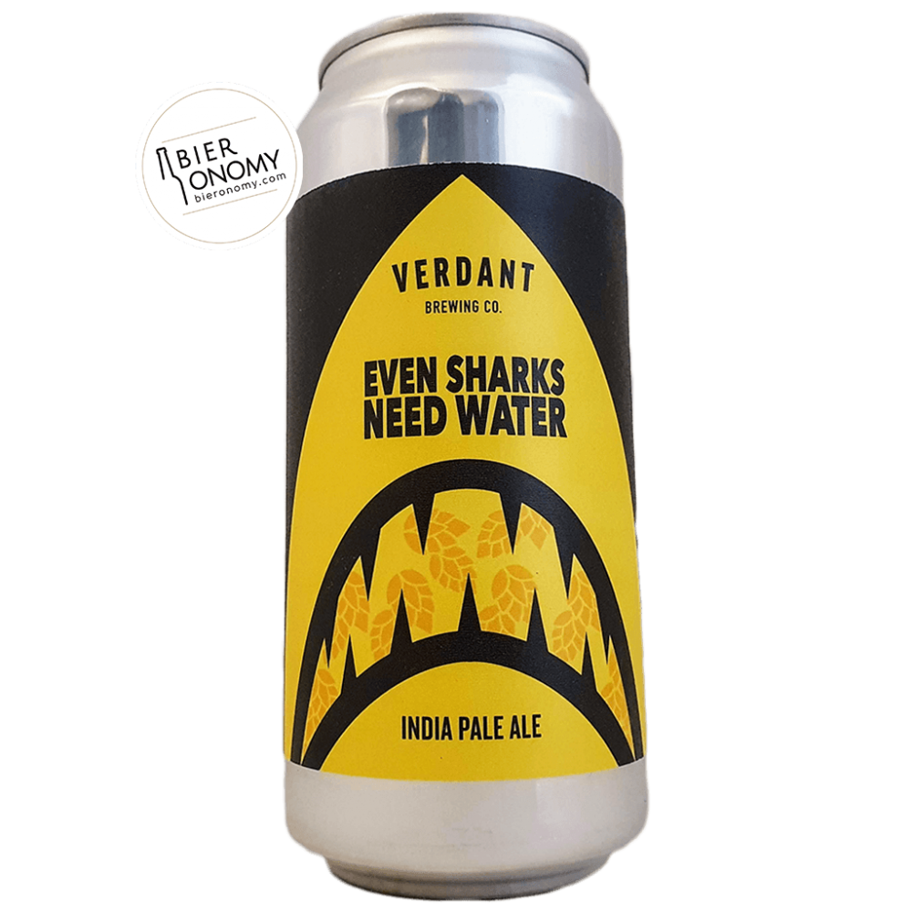 Bière Even Sharks Need Water New England IPA 44 cl Brasserie Verdant Brewing