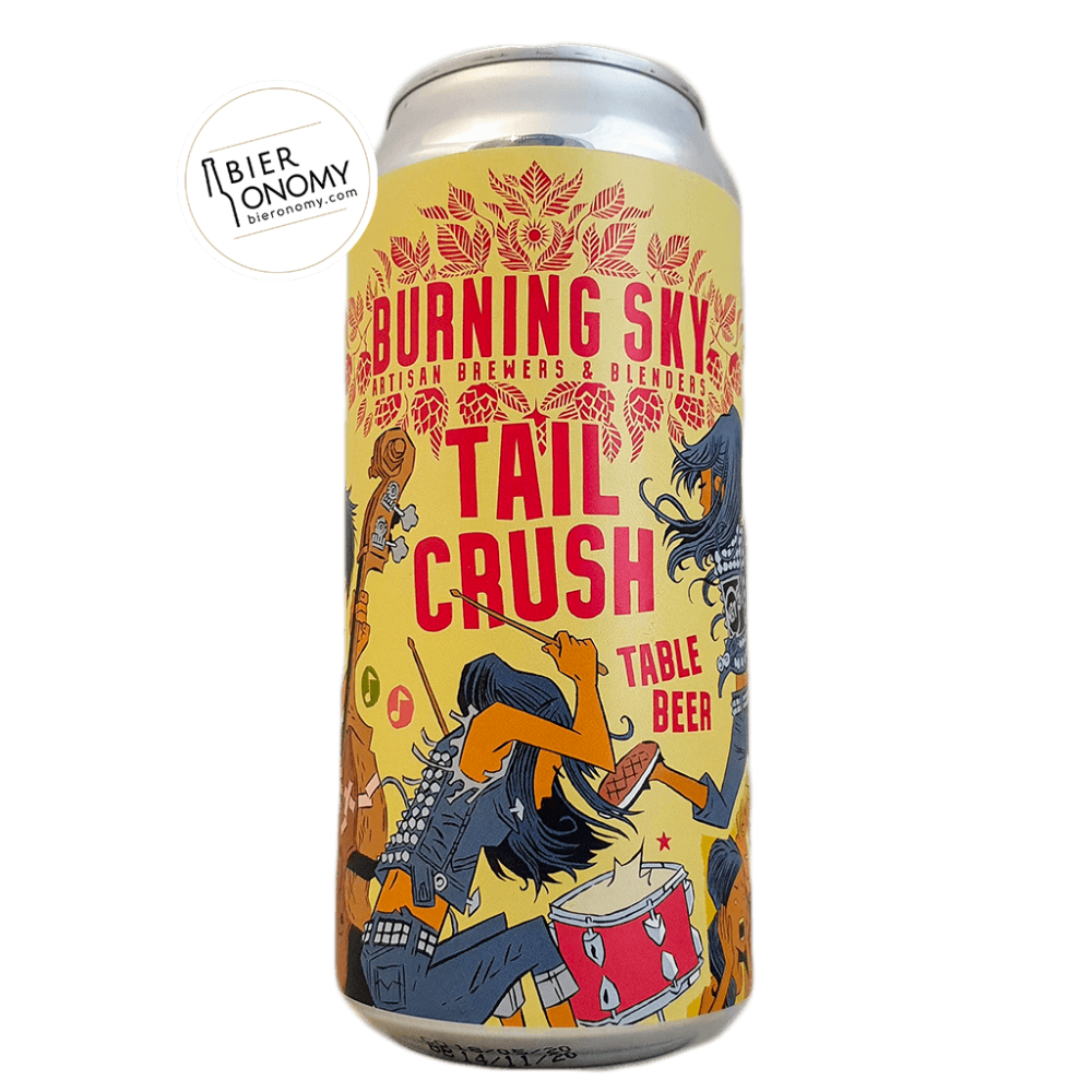 Bière Tail Crush Table Beer 44 cl Brasserie Burning Sky Brewery
