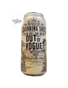 Bière Out of Vogue West Coast Pale 44 cl Brasserie Burning Sky Brewery