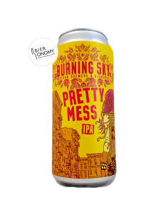 Bière Pretty Mess IPA 44 cl Burning Sky Brewery