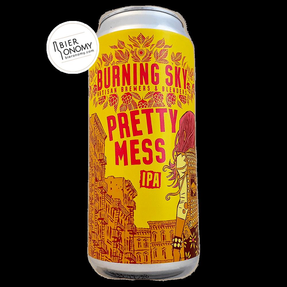 Bière Pretty Mess IPA 44 cl Burning Sky Brewery