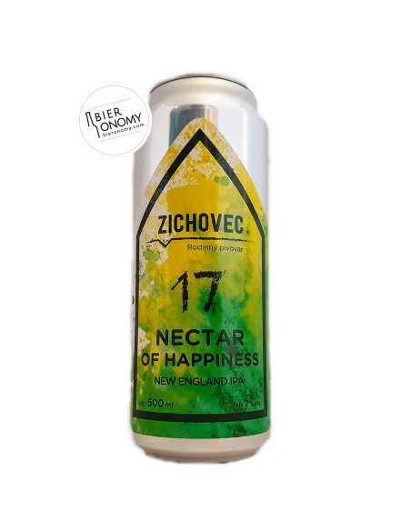 Bière Nectar Of Happiness 17 NEIPA 50 cl Brasserie Zichovec