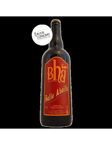 Bière Belle Abeille Amber Ale 75 cl BHB Brasserie du Haut Buëch