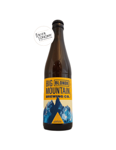 Bière Blonde 33 cl Brasserie Big Mountain Brewing Company