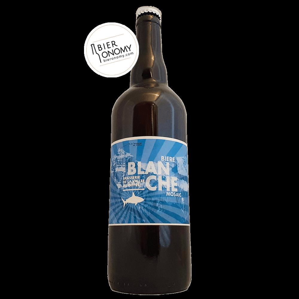 Bière Blanche Mosaic Brasserie de la Vallée du Giffre 75 cl