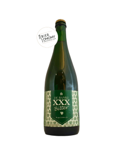 Bière XXX Bitter 75 cl Brasserie De Ranke