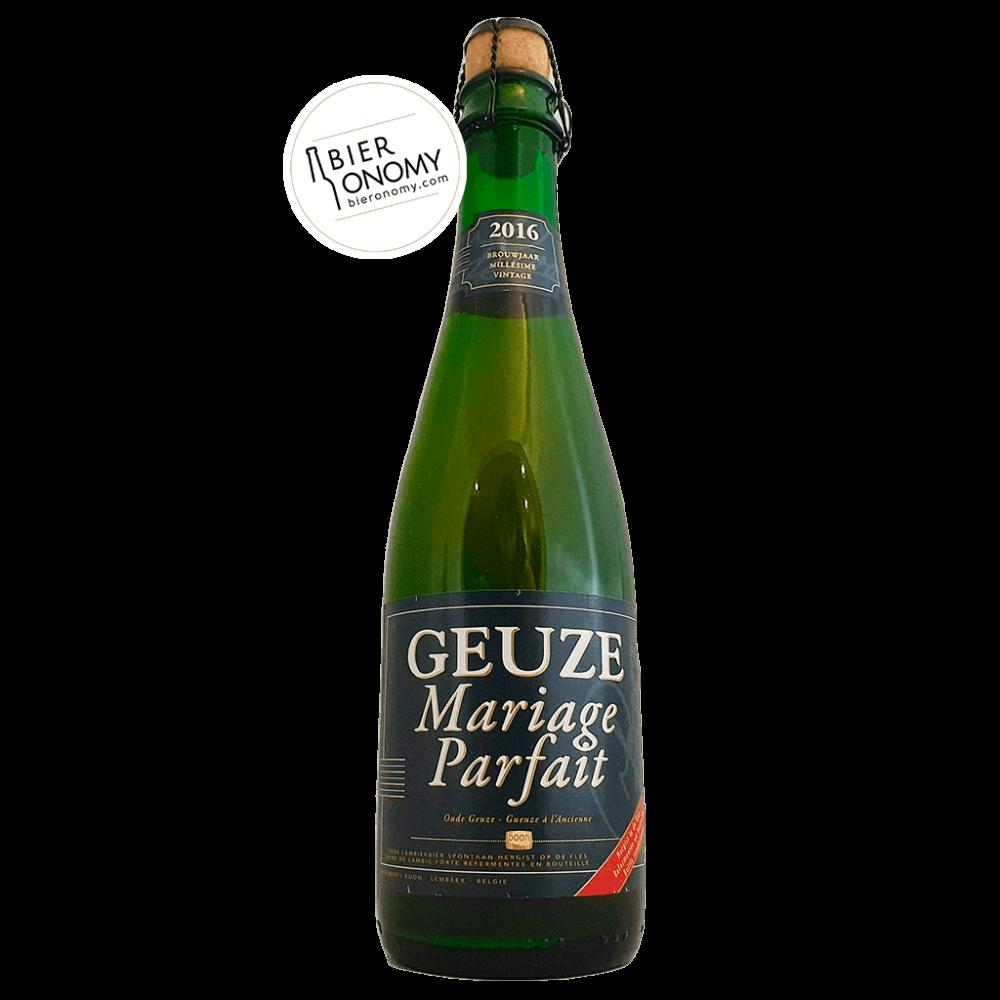 Bière Brasserie Boon Geuze Mariage Parfait 37,5 cl