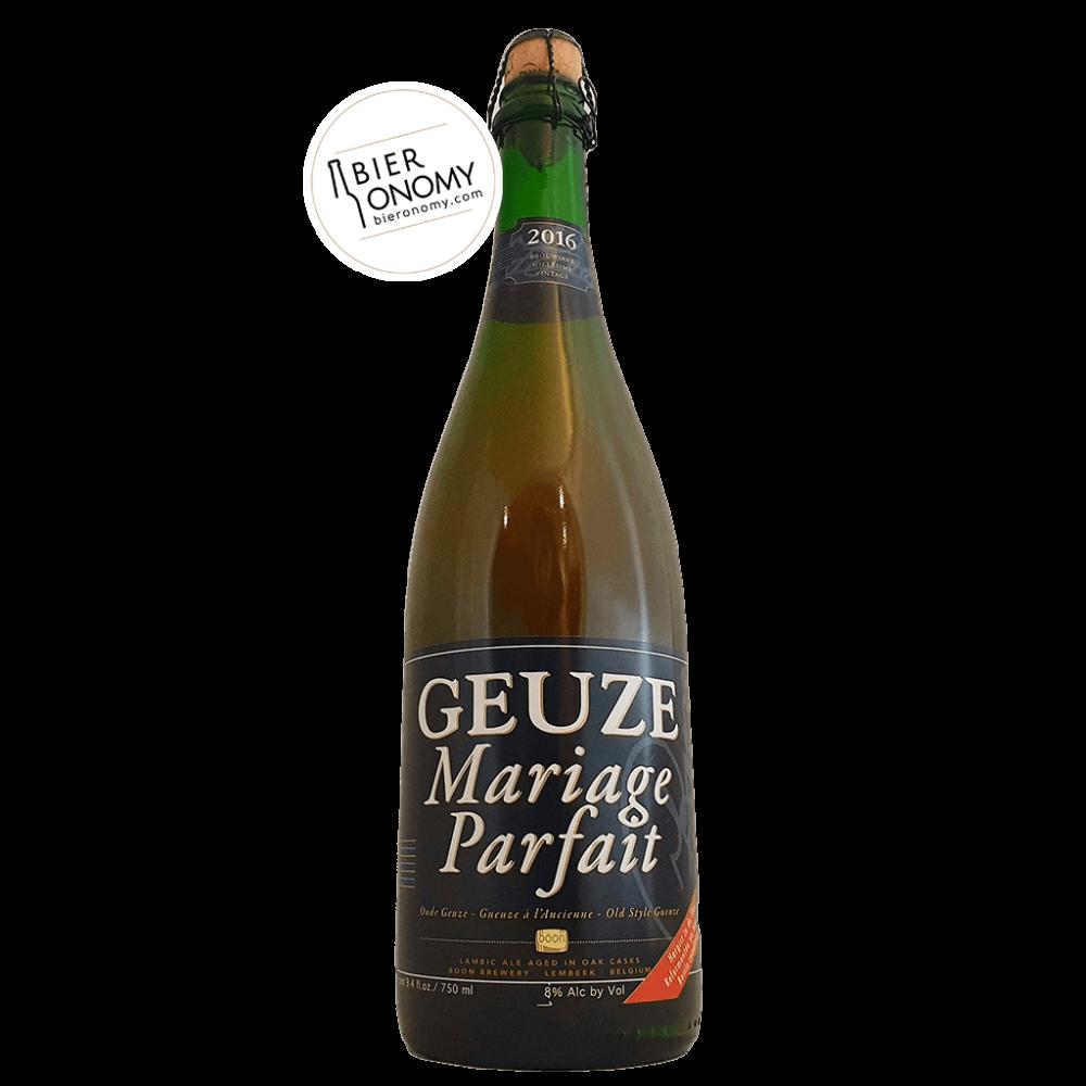 Bière Brasserie Boon Geuze Mariage Parfait 75 cl