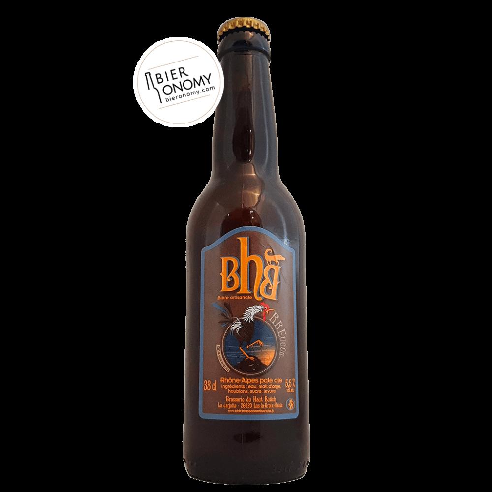 Bière Rhône-Alpes Pale Ale 33 cl BHB Brasserie du Haut Buëch