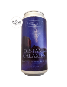 Bière Distant Galaxies Pale Ale 44 cl Brasserie Burnt Mill Brewery