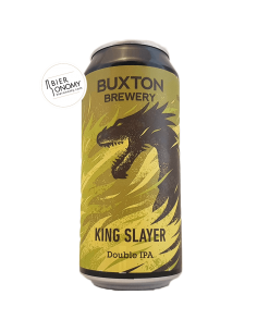 Bière King Slayer DIPA 44 cl Brasserie Buxton Brewery