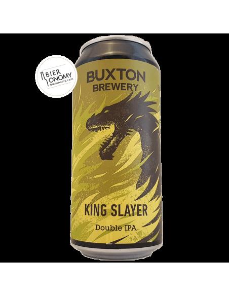 Bière King Slayer DIPA 44 cl Brasserie Buxton Brewery