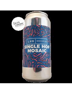 Bière Single Hop Mosaic Pale Ale 44 cl Brasserie Left Handed Giant LHG Brewpub