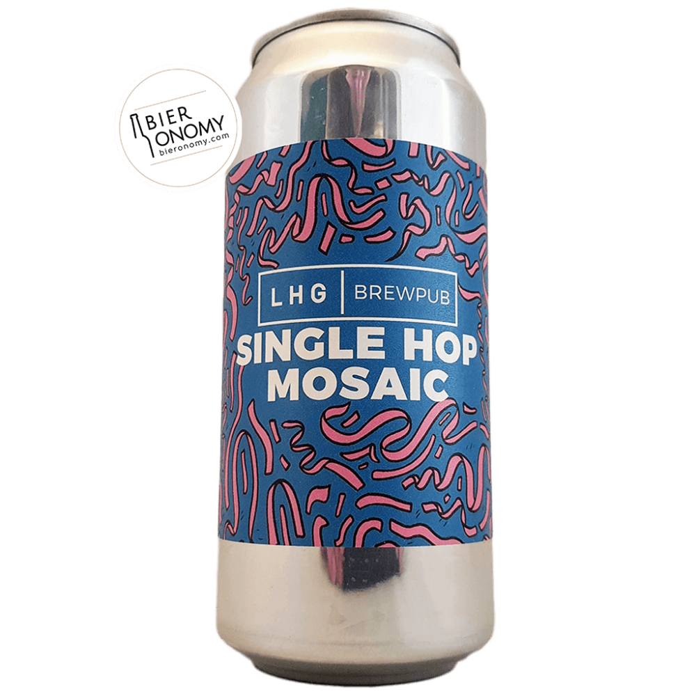 Bière Single Hop Mosaic Pale Ale 44 cl Brasserie Left Handed Giant LHG Brewpub