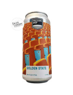 Bière Golden State New England Pale 44 cl Brasserie Pressure Drop Brewing