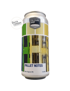 Bière Pallet Notes New England IPA 44 cl Brasserie Pressure Drop Brewing