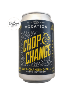 Bière Chop & Change Nelson Sauvin Pale 33 cl Brasserie Vocation Brewery