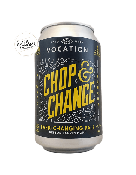 Bière Chop & Change Nelson Sauvin Pale 33 cl Brasserie Vocation Brewery