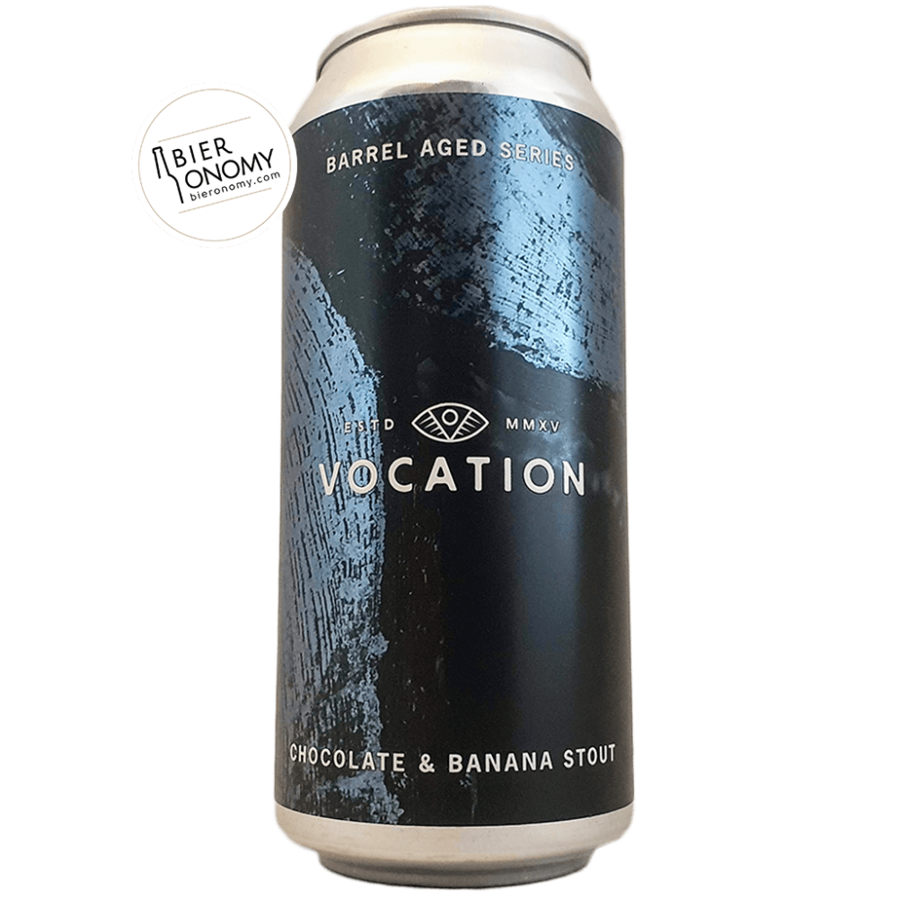 Bière Chocolate & Banana Stout Barrel Aged Series 44 cl Brasserie Vocation Brewery
