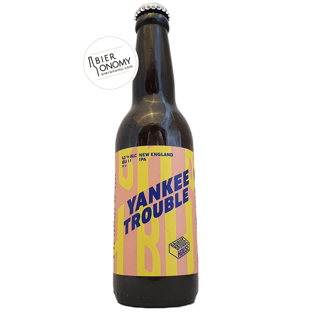 Bière Yankee Trouble NEIPA 33 cl Brasserie Brique House Brewery