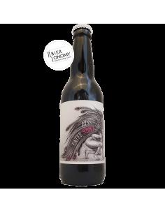 Bière Miss Under Stout 05 Framboise Raspberry Stout Edition 33 cl Brasserie La P'tite Maiz'