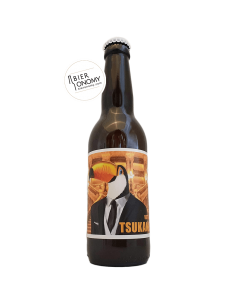 Bière Vote For Tsukanka Citrusy Milkshake DH 33 cl La P'tite Maiz' x ZooBrew Brasserie Animale