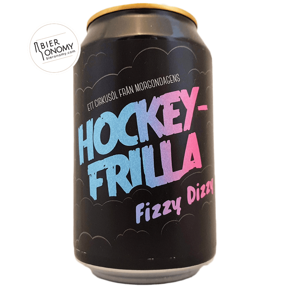 Bière Hockeyfrilla Fizzy Dizzy Sour Candy Weisse 33 cl Brasserie Morgondagens