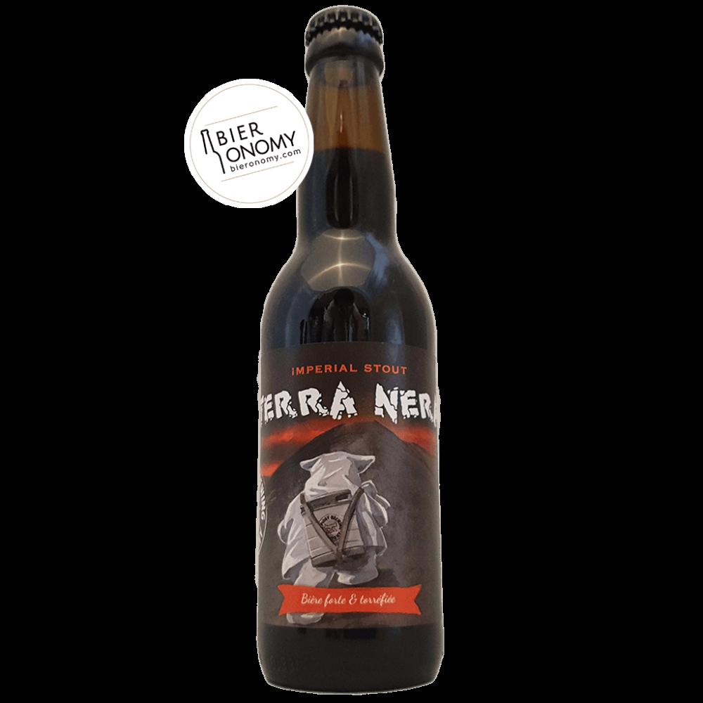 Bière Terra Nera Imperial Stout 33 cl Brasserie Piggy Brewing