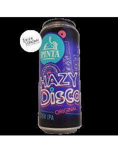 Bière Hazy Disco Original DDH IPA 50 cl PINTA Brasserie
