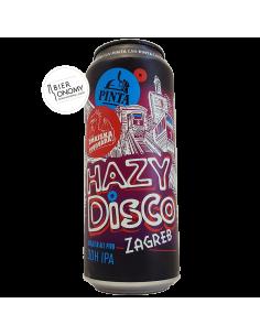 Bière Hazy Disco Zagreb DDH IPA 50 cl Brasserie PINTA x Zmajska Pivovara