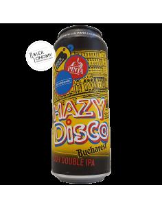 Bière Hazy Disco Bucharest DDH IPA 50 cl Brasserie PINTA x Bereta x Hop Hooligans