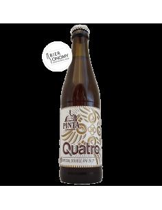 Bière Quatro Double IPA 33 cl Brasserie PINTA