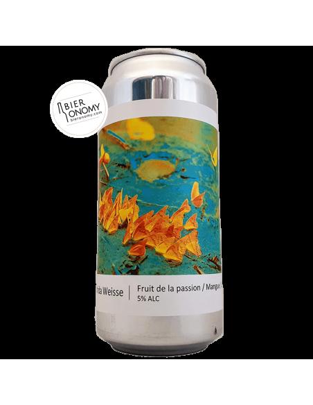 Bière Florida Weisse Fruit De La Passion Mangue Lime 44 cl Brasserie Popihn
