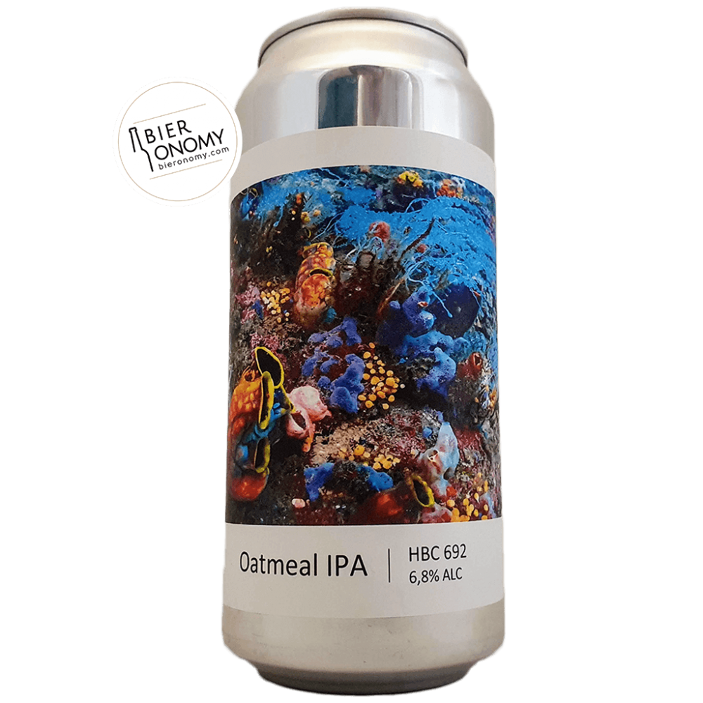 Bière Oatmeal Ipa Hbc 692 44 cl Brasserie Popihn
